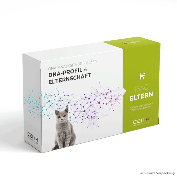 Abstammungstest für Katzen